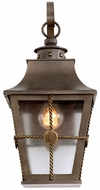 Kalco 403521AGB Belle Grove Traditional Aged Bronze Exterior Small Wall Light Sconce