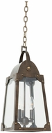 Kalco 403751AGB Arlington Vintage Aged Bronze Outdoor Pendant Hanging Light