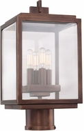 Kalco 403800CP Chester Copper Patina Outdoor Post Lighting
