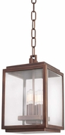 Kalco 403850CP Chester Copper Patina Outdoor Pendant Light