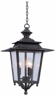 Kalco 404150AI Saddlebrook Traditional Aged Iron Outdoor Lighting Pendant