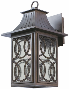 Kalco 404220AGB Monterey Traditional Aged Bronze Outdoor Small Wall Lighting Fixture