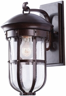 Kalco 404320BB Emerson Burnished Bronze Exterior Small Wall Sconce