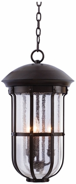 Kalco 404350BB Emerson Burnished Bronze Outdoor Hanging Lamp