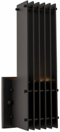 Kalco 404921MB Drew Modern Matte Black LED Outdoor Wall Sconce