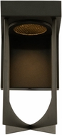 Kalco 405221MB Optika Modern Matte Black LED Wall Lighting
