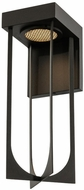 Kalco 405222MB Optika Modern Matte Black LED Sconce Lighting
