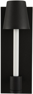 Kalco 405322MBW Candelero Contemporary Matte Black with White LED Lighting Sconce