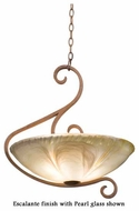Kalco 4065 G-Cleft 20.5 inch Pendant Light