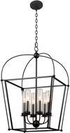 Kalco 409352BM Sutter Smooth Matte Black Outdoor Lighting Pendant