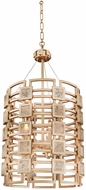 Kalco 500650MG Metropolis Contemporary Modern Gold Foyer Lighting