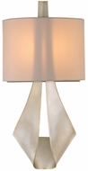 Kalco 501122PS Barrymore Contemporary Pearl Silver Wall Mounted Lamp