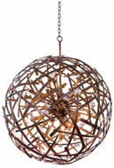 Kalco 501552CP Ambassador Contemporary Copper Patina 34  Pendant Light