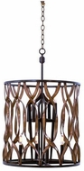 Kalco 501852MC Soho Modern Milk Chocolate Entryway Light Fixture