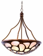 Kalco 501953CP Gramercy Contemporary Copper Patina Hanging Pendant Lighting