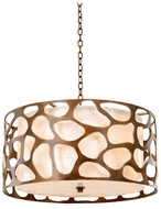 Kalco 501954CP Gramercy Modern Copper Patina Hanging Pendant Light