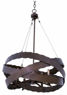 Kalco 502651BS Fulton Contemporary Brownstone Hanging Light