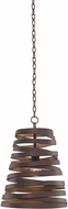 Kalco 503450BZG Tempest Contemporary Bronze Gold Mini Drop Lighting