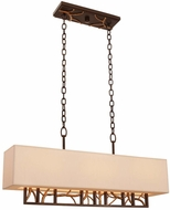 Kalco 504160BZG Hudson Bronze Gold Island Lighting