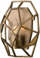 Kalco 504720PAB Esmeralda Contemporary Pearlized Antique Brass Light Sconce