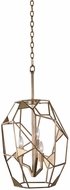 Kalco 504750PAB Esmeralda Contemporary Pearlized Antique Brass Entryway Light Fixture