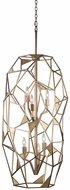 Kalco 504751PAB Esmeralda Modern Pearlized Antique Brass Foyer Lighting