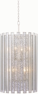 Kalco 505052TS Palisade Modern Tarnished Silver Drum Ceiling Pendant Light