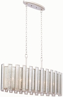 Kalco 505061TS Palisade Modern Tarnished Silver Kitchen Island Light Fixture