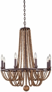Kalco 505271RM Beechwood Royal Mahogany Chandelier Lighting