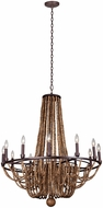 Kalco 505272RM Beechwood Royal Mahogany Lighting Chandelier