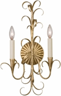 Kalco 505420OL Ainsley Oxidized Gold Leaf Lamp Sconce