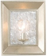 Kalco 505720WS Hayworth Modern Warm Silver Wall Light Fixture