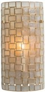 Kalco 505820OL Roxy Contemporary Oxidized Gold Leaf Lighting Wall Sconce