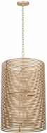 Kalco 506450MG Emery Contemporary Modern Gold Foyer Lighting Fixture