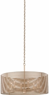 Kalco 506452MG Emery Contemporary Modern Gold 28  Drum Hanging Lamp