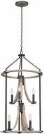 Kalco 506650NI Middleton Natural Iron Entryway Light Fixture