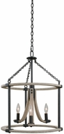 Kalco 506651NI Middleton Natural Iron 18  Pendant Light Fixture