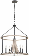 Kalco 506652NI Middleton Natural Iron 26  Pendant Lighting Fixture