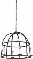 Kalco 506952BI Wickenburg Black Iron 28  Pendant Hanging Light