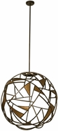 Kalco 507352BZG Neptune Contemporary Bronze Gold LED 34  Ceiling Light Pendant