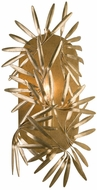 Kalco 507620OL Jardin Modern Oxidized Gold Leaf Wall Lighting Fixture