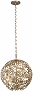 Kalco 507650OL Jardin Modern Oxidized Gold Leaf 18  Ceiling Pendant Light