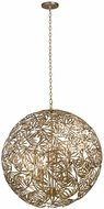 Kalco 507652OL Jardin Modern Oxidized Gold Leaf 32  Drop Lighting Fixture