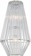 Kalco 508420CH Taza Modern Chrome Wall Mounted Lamp