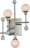 Kalco 508620PN Mercer Contemporary Polished Nickel LED Wall Lamp