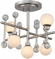 Kalco 508640PN Mercer Modern Polished Nickel LED Ceiling Lighting