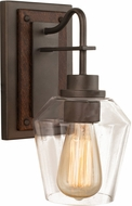 Kalco 508720BS Allegheny Contemporary Brownstone Wall Lighting