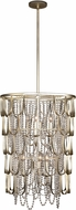Kalco 508850CSL Dulce Champagne Silver Leaf Entryway Light Fixture