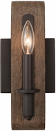 Kalco 508931SZ Duluth Satin Bronze Lighting Sconce