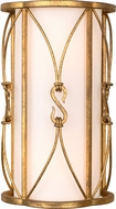 Kalco 509020OL Olivia Oxidized Gold Leaf Lamp Sconce